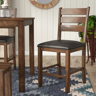 Osborne Slatback Upholstered Bar Stool (Set of 2)
