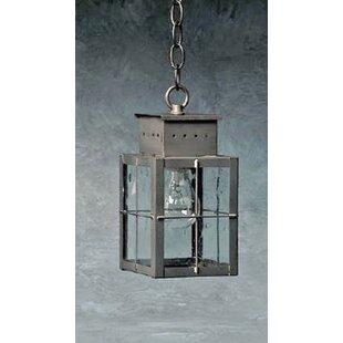 Breakwater Bay Wildes 1-Light Outdoor Hanging Lantern