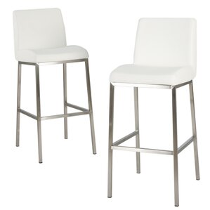 Turner 30  Bar Stool (Set ...  sc 1 st  AllModern & Modern Leather Bar Stools + Counter Stools | AllModern islam-shia.org