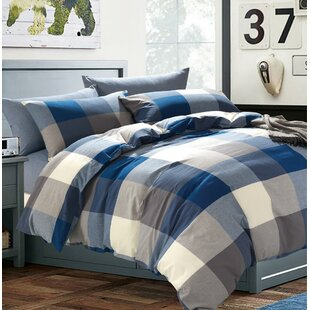 Amalgre Washed Cotton Duvet Cover Set