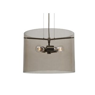 Besa Lighting Pahu 3-Light Drum Pendant
