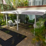 Contempra Slope Patio Awning  in White