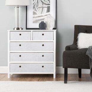 Ebern Designs Foerster Split 5 Drawers Single Dresser