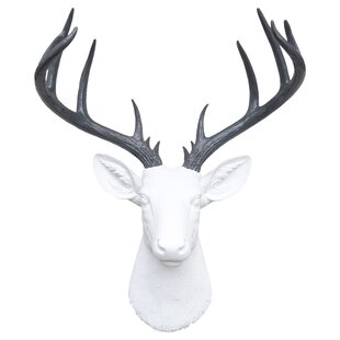 Large Deer Head Faux Taxidermy Wall Décor