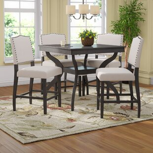Darby Home Co Campton 5 Piece Counter Height Dining Set