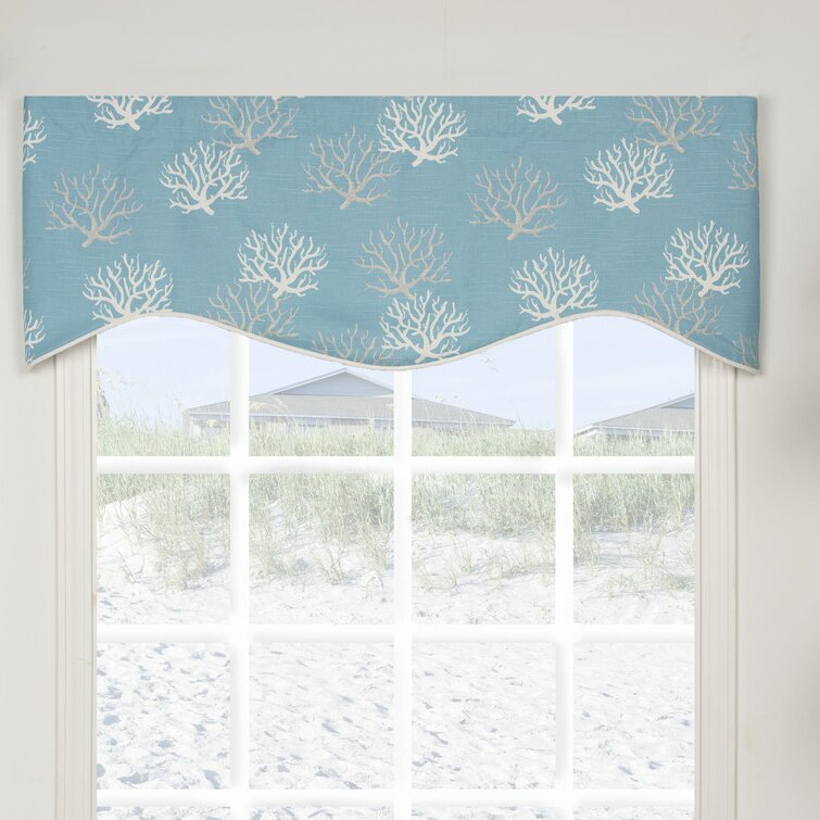 Granada Shaped 50 Curtain Valance
