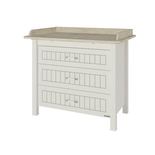 Compare Bayside 3 Drawer Dresser By Harriet Bee