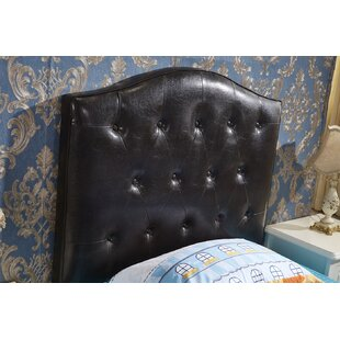 Classic Twin Upholstered Panel Headboard by
