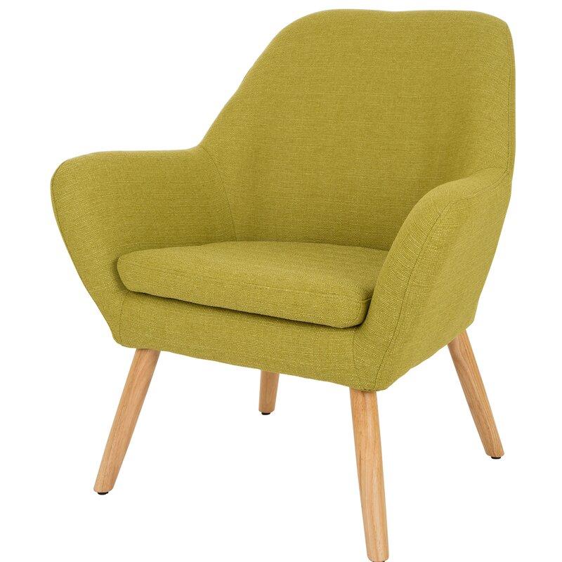 Corrigan Studio Volmer Mid Century Modern Barrel Chair