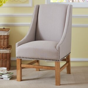 Tharpe Fabric Dining Arm Chair by Alcott Hill
