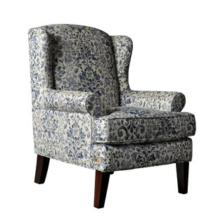Buy luxury Lila Wingback Chair by Darby Home Co Reviews (2019) & Buyer's Guide