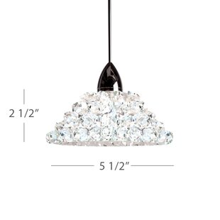 WAC Lighting Giselle 1-Light Cone Pendant