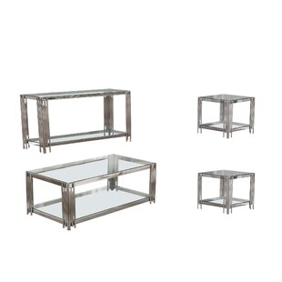 Reviews Hardt 4 Piece Coffee Table Set By Mercer41