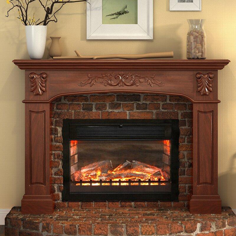Fireplace Design fireplace surround : Surround Fireplace Mantels You'll Love | Wayfair