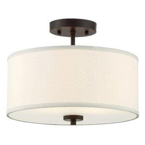 Bathroom Light Fixtures Wayfair flush mount lighting you'll love | wayfair