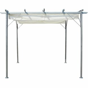 Boutte 2.25m X 3m X 3m Steel Pergola By Sol 72 Outdoor