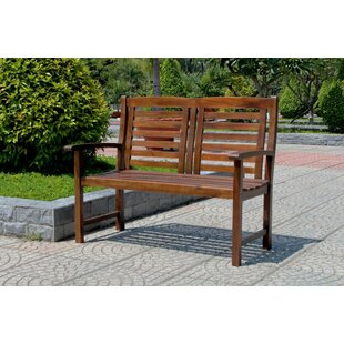 Pine Hills Traditional Outdoor Wood Garden Bench