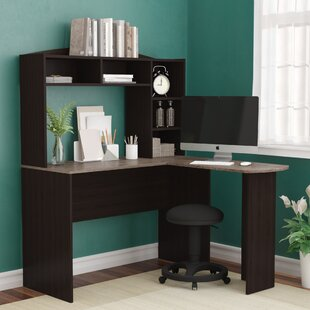 Marlton L-Shape Desk with Hutch