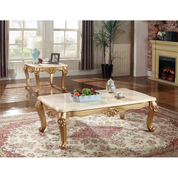 Bachus 2 Piece Coffee Table Set