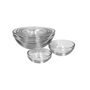Glass Mixing Bowl (Set of 4)