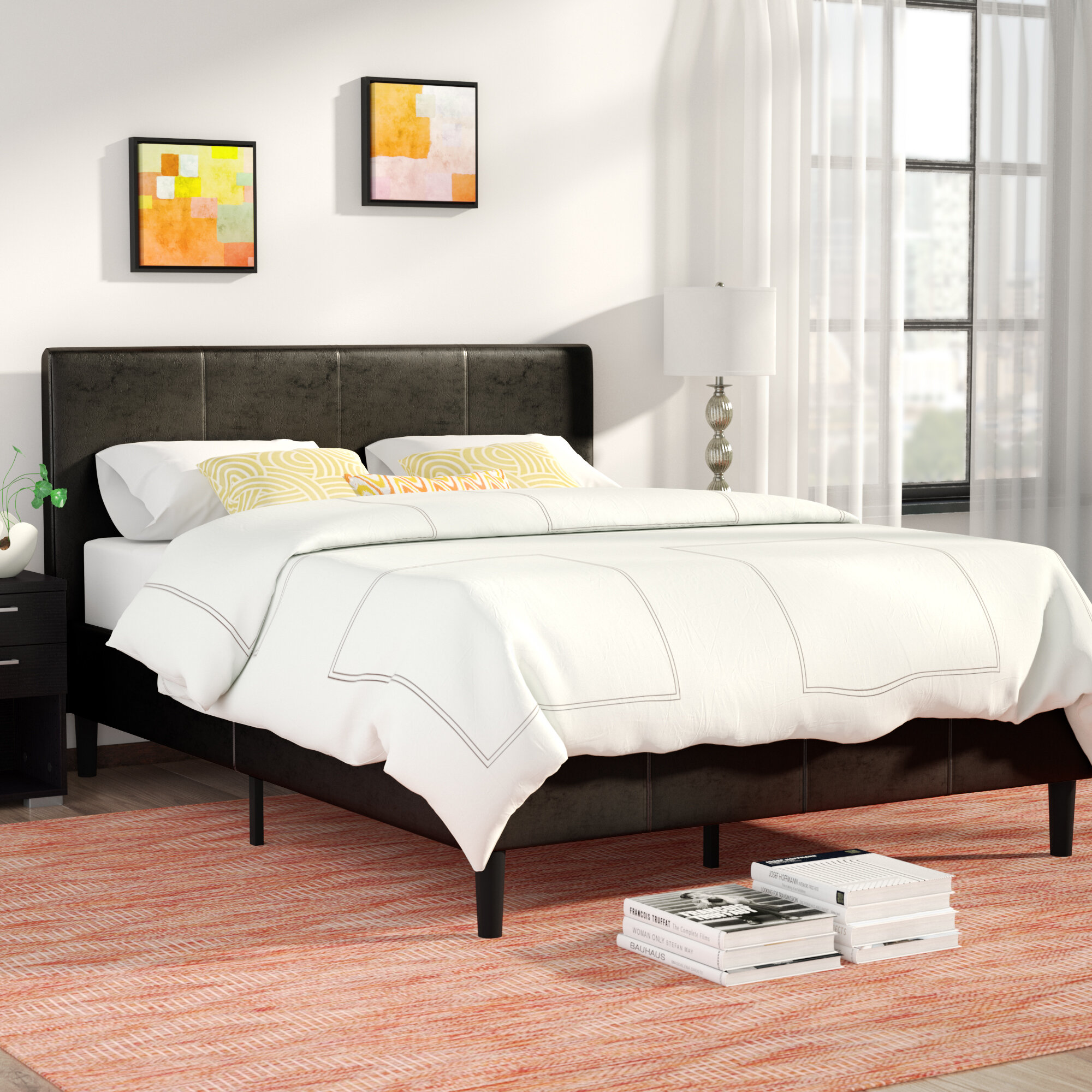 Zipcode Design Clyde Upholstered Platform Bed & Reviews | Wayfair