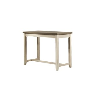 Kinsey Trestle Dining Table Rosecliff Heights