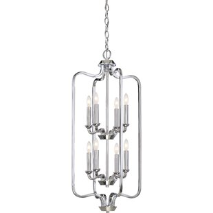 Niagara 8-Light Geometric Chandelier by Alcott Hill