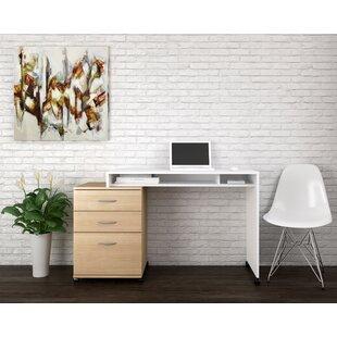 Ebern Designs Campus 2 Piece Desk Office Suite