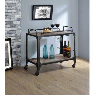 Salyer Bar Cart by Williston Forge