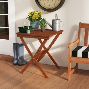 Carolann Folding Bistro Table