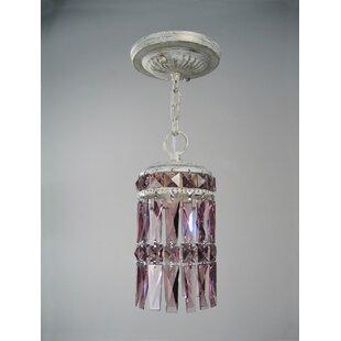 Cascade 1-Light Crystal Pendant by Classic Lighting