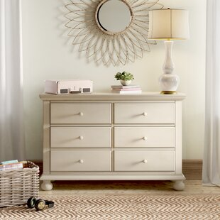 Lia 6 Drawer Double Dresser