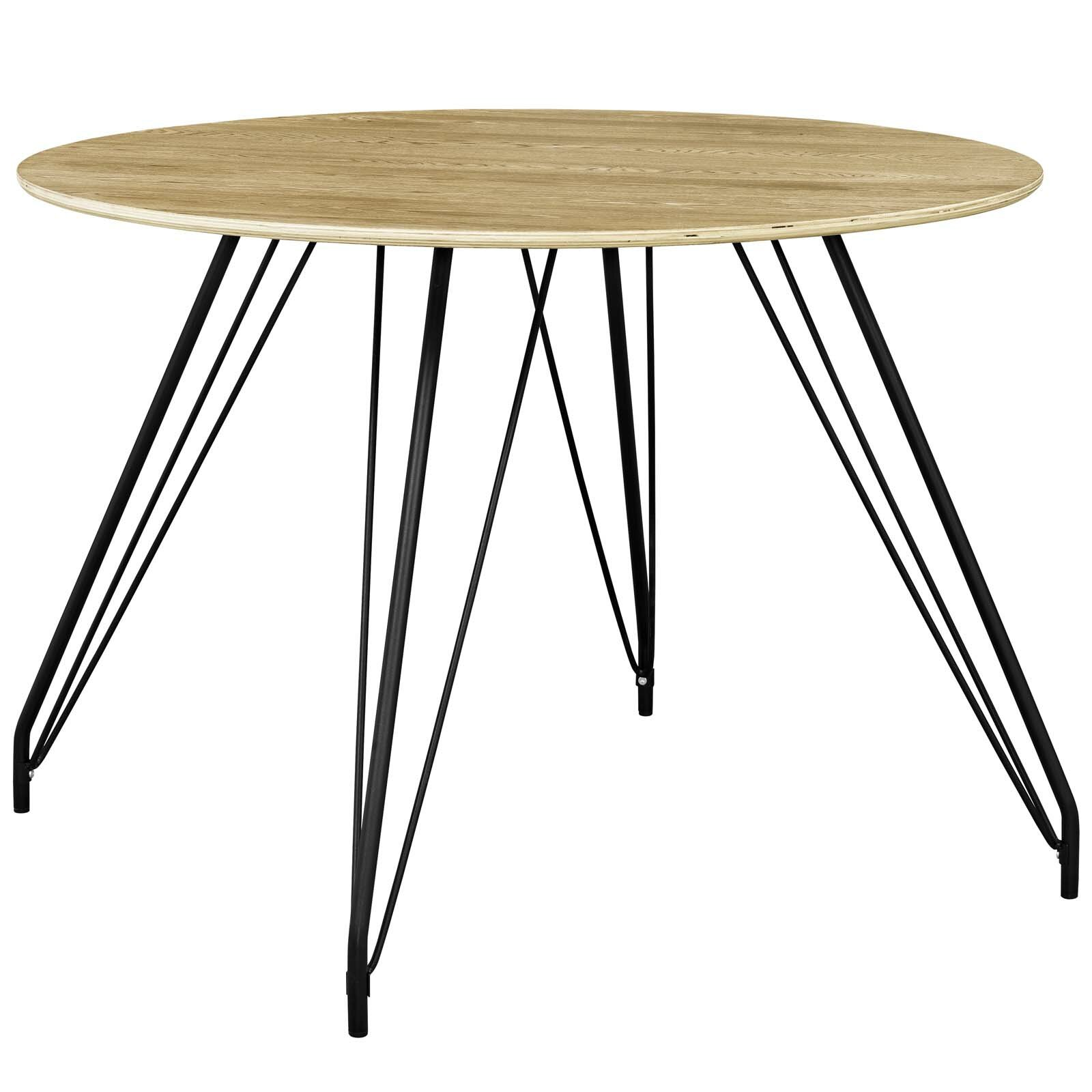 Foundry select cayman circular dining table wayfair