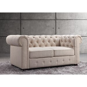 Garcia Chesterfield Loveseat by Mulhouse Furniture