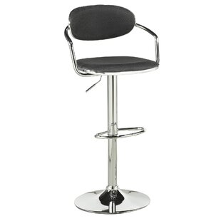 Beverly Adjustable Height Swivel Bar Stool (Set of 2)