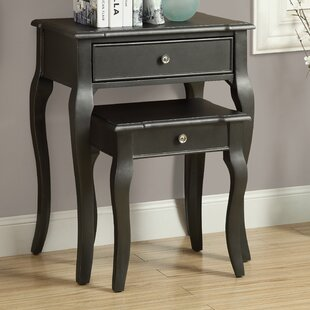 2 Piece Nesting Table Set II