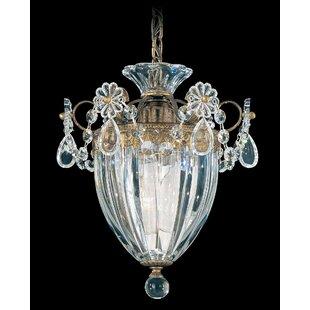 Bagatelle 1 Light Crystal Pendant By Schonbek