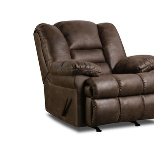 Pickering Manual Rocker Recliner by Simmons Upholstery Darby Home Co