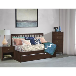 Angelos Mission Twin Daybed with Trundle By Harriet Bee