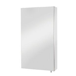 Great Price Diaz-Doherty Standard 11.8 x 21.65 Surface Mount Frameless Medicine Cabinet ByOrren Ellis