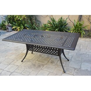 Metal Dining Table by Canora Grey
