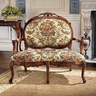Design Toscano Upholstered Bench