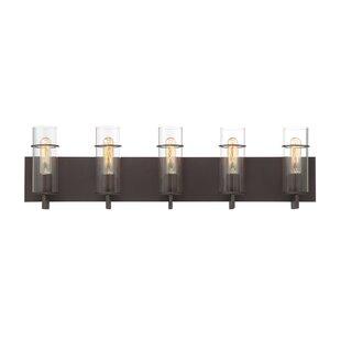 Williston Forge Hamon 5-Light Vanity Light