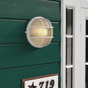 Beachcrest Home Lia Outdoor Bulkhead Light