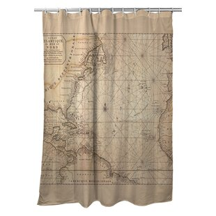 Ellisburg Old World Polyester Single Shower Curtain