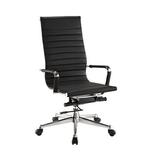 Flexsteel Contract Pantera Leather Desk Chair