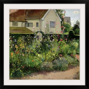 U0027Corner Of The Herb Gardenu0027 By Timothy Easton Painting Print