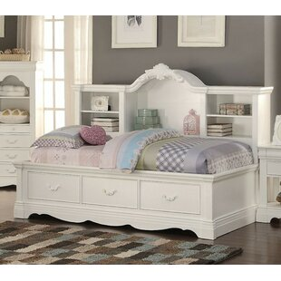Henricks Twin Daybed with Shelves and 3 Drawers