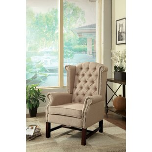 Epling Wingback Chair by Darby Home Co