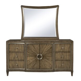 Newt 6 Drawer Combo Dresser with Mirror
